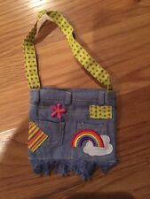 American Girl doll Ivy's Accessories Demin Bag New