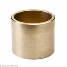 AM-222825 22 ID x 28 OD x 25 Long - Metric Bronze Plain Oilite Bearing Bush