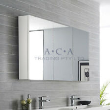 1200 X 720 X 150mm Pencil Edge Shaving Mirror Medicine Cabinet Bathroom Vanity