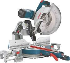 "NEW BOSCH GCM12SD ELECTRIC 12"" DOUBLE BEVEL GLIDE 15 AMP 3 HP MITER SAW 0342279"
