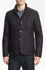 Burberry Brit Howe Men's Black Quilted Jacket Size Extra Large XL