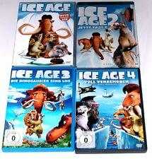DVD: Sammlung ICE AGE 1-4 1+2+3+4 Komplett Deutsch