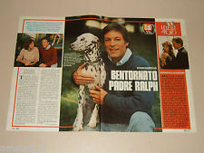 RICHARD CHAMBERLAIN clipping articolo foto photo 1984 AT43 BENTORNATO RALPH