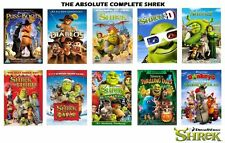 complete Shrek 1 2 3 4 + 3D + the Halls + Shrekless + Puss In + 3 Diablos + more