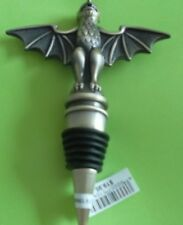 Disney Haunted Mansion Gargoyle Bat Wings Wine Bottle Stopper w-Tags  GIFT ITEMS