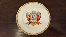 King Edward VIII 1937 Coronoation Plate Crowned Grindley Creampetal