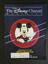 The Disney Chanel Magazine March / April 1989 New Mickey Mouse Club House