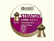 JSB STRATON JUMBO DIABOLO 5.50 mm .22 250 pcs. 1.030 g Air rifle Pellets Airgun