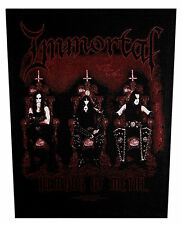 IMMORTAL - Rückenaufnäher Backpatch Demons of Metal