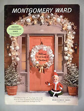 Montgomery Ward CATALOG - Christmas, 1963 ~~ toys, toy ~~ Wards ~ nice condition