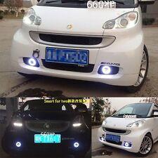 LED daytime running light DRL Fog lamp Angel Eyes for Benz Smart Fortwo 08-2010