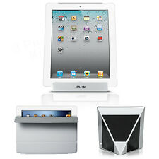 APPLE iPAD 2 16GB WiFi White + Smart Cover Gray MD307LL/A + iHome IDM1 3PC