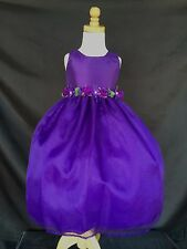 Flower Girl Bridesmaids Easter Elegant Toddler Girl Pageant Recital Dress #35