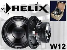 "Helix Audio - W12 12"" NEW Competition Subwoofer Competition Car Audio Speaker"