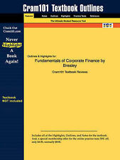 Outlines & Highlights for Fundamentals of Corporate Finance, , Good, Paperback