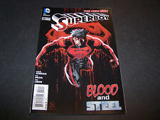 NEW 52 SUPERBOY #20 1ST PRINT DC COMICS JUSTIN JORDAN RB SILVA ROB LEAN SUPERMAN