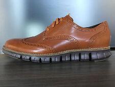 Cole Haan Men's Zerogrand Deconstructed Wingtip Oxford Shoes size 8.5 $270