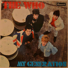 "The WHO-My Generation 12"" 2 LP (m366)"