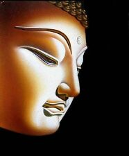 ZWPT105 high quality 100% hand-painted buddha head oil painting art on Canvas