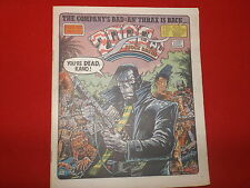 "2000AD COMIC PROG 516 4TH APR 1987 (""BITCH"" ALAN GRANT SCRIPT) GOOD COPY"