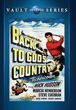 Back to God's Country (Rock Hudson) - Region Free DVD - Sealed