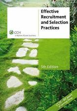 Effective Recruitment and Selection Practices [CCH Product Code: 39004a] by R. …