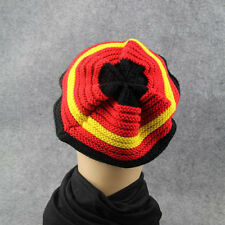 Striped Marley Knit Roots Jamaica Style Hat Colorful slouchy warm skull caps