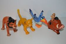 0144 McDonald's Happy Meal Lion King 1994 full set figures - Disney Mcdonalds