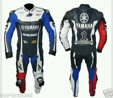 YAMAHA MOTOGP Motorcycle Leather Suit Racing Cowhide Leather Suit ONE PIECE
