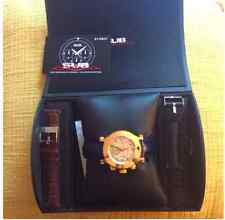 18MM Sub Chrono Swiss Made Gold In Box New