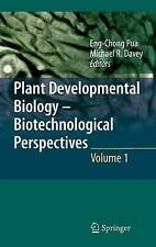 Plant Developmental Biology - Biotechnological Perspectives: Volume 1 (Plant De