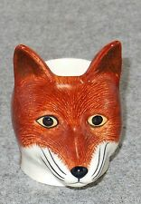 Quail Pottery - FOX FACE - EGG CUP