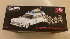 Brand new HOT WHEELS ELITE 1:18 GHOST BUSTERS ECTO 1 30TH ANNIVERSARY