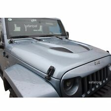 NEW Safaripal Jeep Wrangler JK 2007-2015 10th Anniversary Power Dome Style Hood