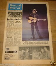 RECORD MIRROR 10 JULY 1965 BOB DYLAN FORTUNES ANIMALS SHADOWS LULU PETER GORDON