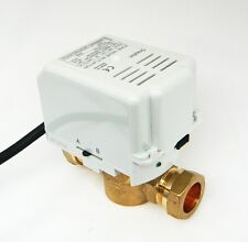 DRAYTON 22MM 2 PORT ZONE VALVE ZA5/679-2 27100 WITH REMOVABLE ACTUATOR
