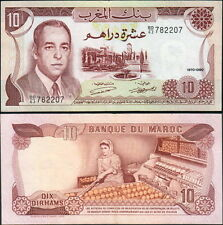 MAROCCO - Morocco 10 dirhams 1970 VF