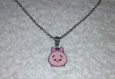 PIGLET TSUM TSUM Inspired Charm NECKLACE Party Bag Stocking Filler