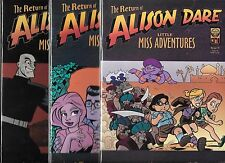 THE RETURN OF ALISON DARE LITTLE MISS ADVENTURES #1-#3 SET (NM-)