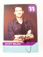 GENUINE HANDSIGNED SCOTT MAJOR 'LUCAS FITZGERALD' NEIGHBOURS FANCARD