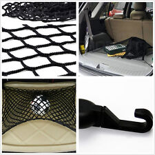 Car Rear Cargo Black Resilient Net Nylon Mesh Luggage Cover Bag For SUV Off-Road