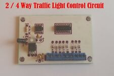 2 / 4 Way Traffic Light Control Circuit For Model Railway, N / OO / HO Gauge