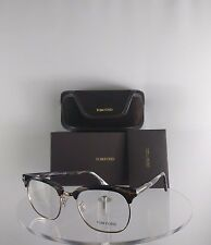 Brand New Authentic Tom Ford TF 5342 Eyeglasses 063 Horn Gold Color Frame