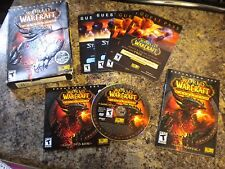 PC GAME WORLD OF WARCRAFT CATACLYSM EXPANSION SET FAST/FREE SHIPPING