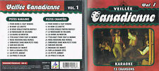 Karaoke CD+G Veillee Canadienne Vol.1 - CDG BRAND NEW, MusicaMonette from Canada