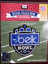 NCAA College Football Official 2011/12 Belk Bowl Patch N.C. State Louisville