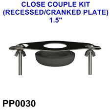 "PP0030 1 1/2"" CLOSE COUPLED KIT (RECESSED/CRANKED PLATE) *CHEAPEST ON EBAY*"