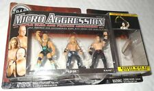 WWE MICRO AGGRESSION FINLAY EDGE KANE FIGURES