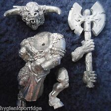 1998 Chaos Beastman Minotaur with Two Handed Weapon 2 Citadel Beasts Beastmen GW