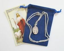 Saint Medal of St. Anastasia with 24 Inch Necklace